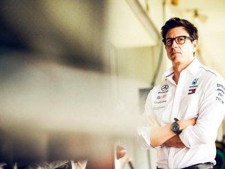 Toto Wolff, jefe de Mercedes AMG F1