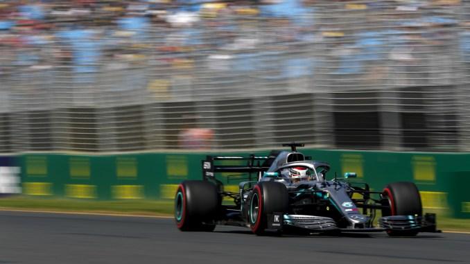 2019 Australian Grand Prix - Lewis Hamilton