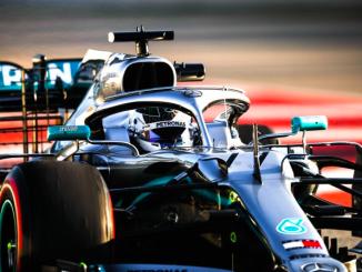 Valtteri Bottas Mercedes Barcelona 2019