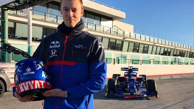 Daniil Kvyat, en Toro Rosso 2019
