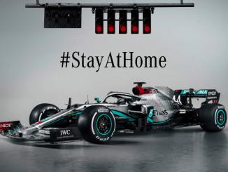 Mercedes F1 2020_ #stayathome