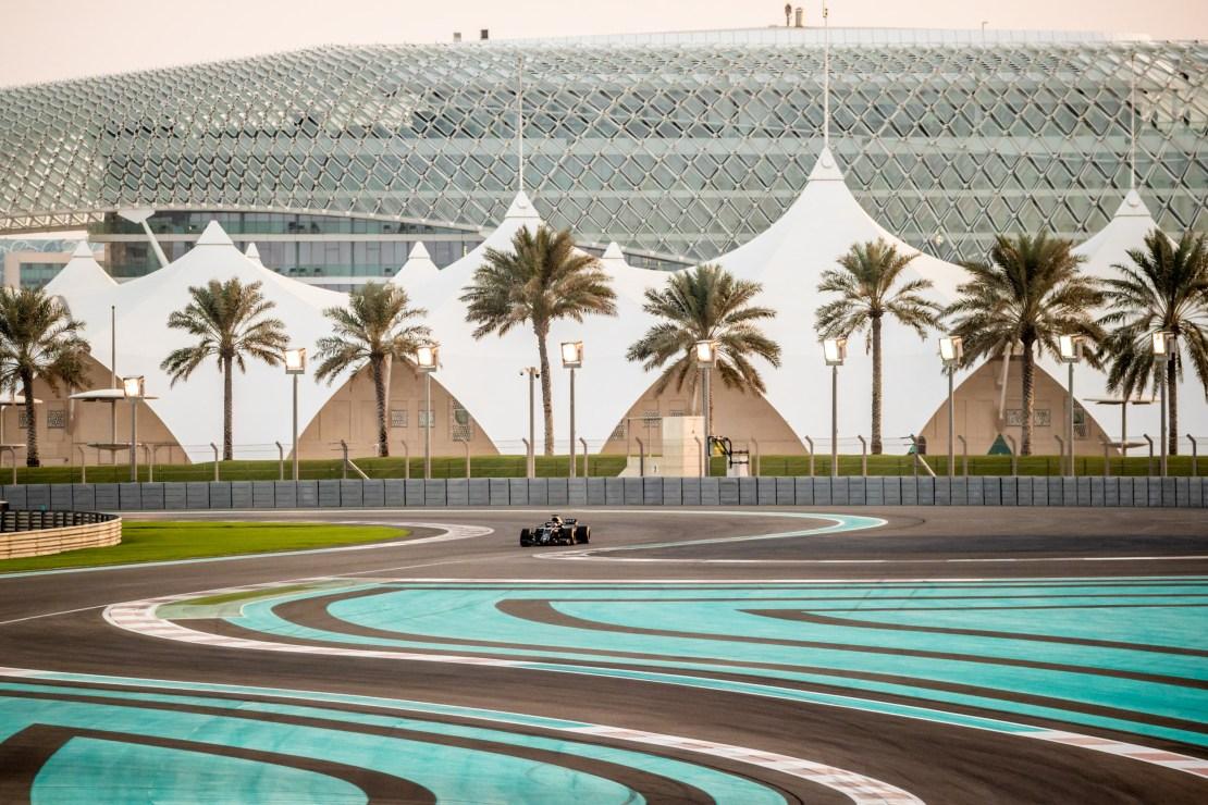 Fernando Alonso Abu Dhabi RS18