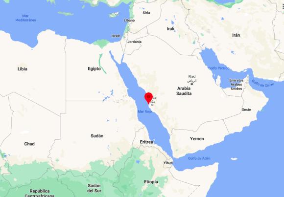 Mapa: Jeddah - Arabia Saudi