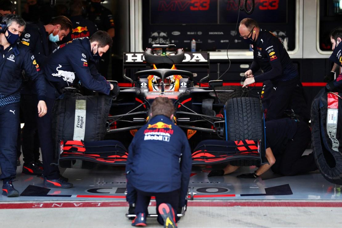 Verstappen Silverstone Red Bull