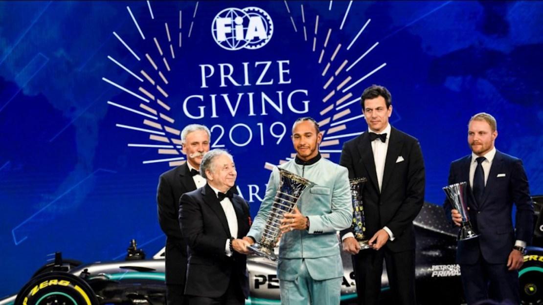Hamilton F1 Campeón