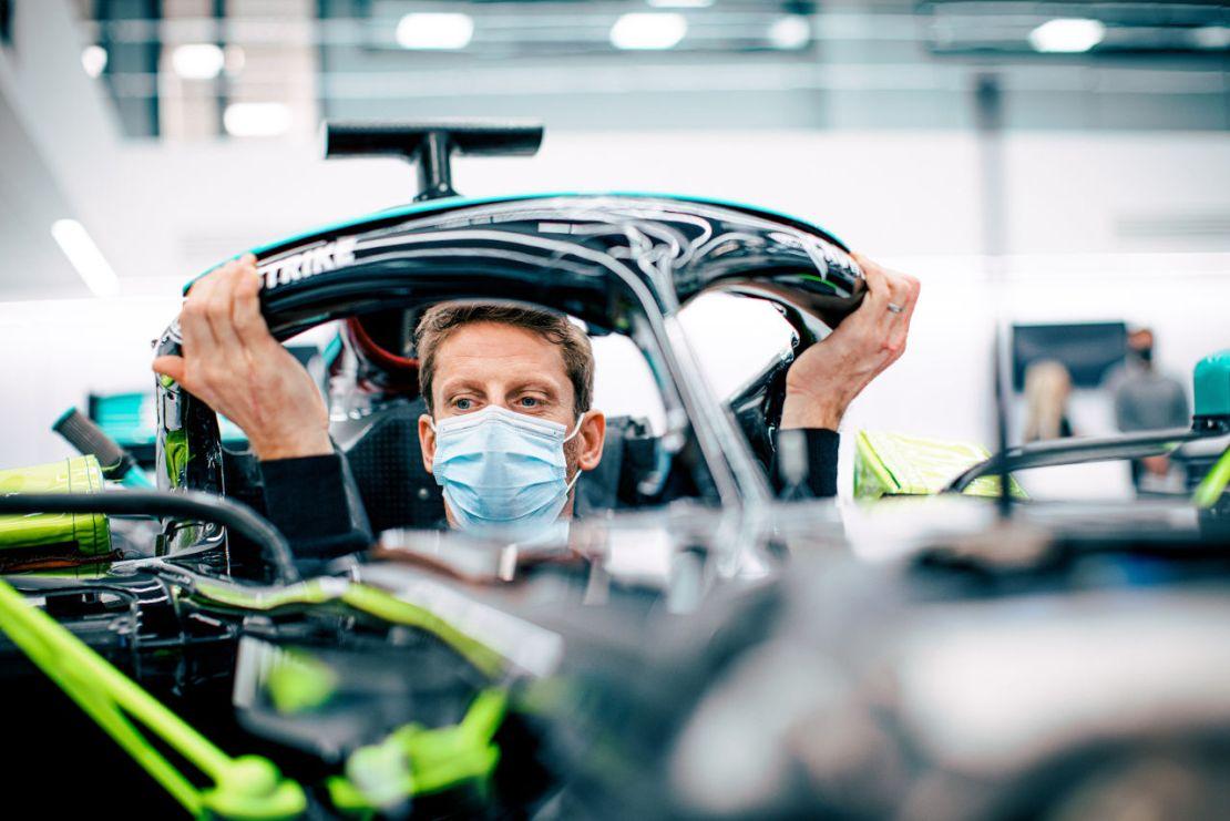 Romain Grosjean Mercedes 2021