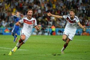 Mario Götze anotó un golazo en la prórroga de la final del Mundial de Brasil 2014.