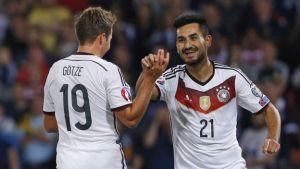 Gündogan anotó el definitivo 3-2 en favor de Alemania..
