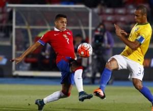 Alexis anotó su gol número 29 por Chile.