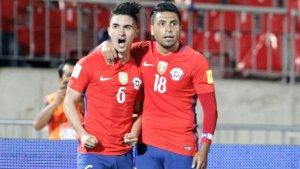 Gutiérrez abrió el marcador, pero Chile no aguantó.