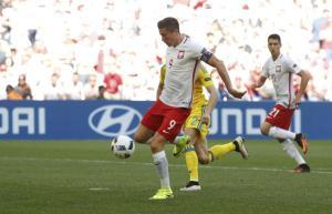 Lewandoski aún no anota en Eurocopa.