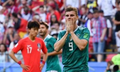 Alemania quedó eliminada del Mundial de Rusia en primera ronda.