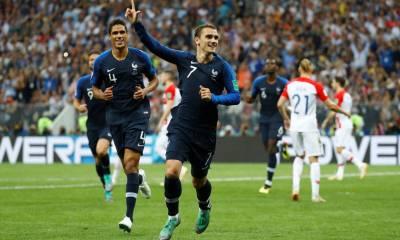 Francia goleó a Croacia en la final del Mundial de Rusia 2018 y se proclamó como el nuevo campeón del mundo.