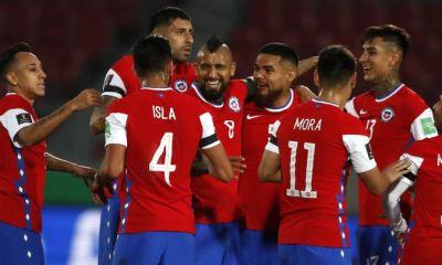Chile tuvo varias figuras en el triunfo ante Perú por las clasificatorias.