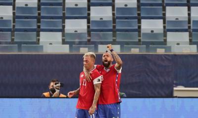 Chile y Uruguay empataron 1 a 1 en la Copa América 2021
