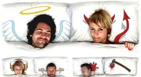 Almohadas creativas!