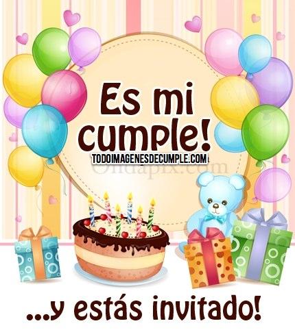 hoy es mi cumpleaños