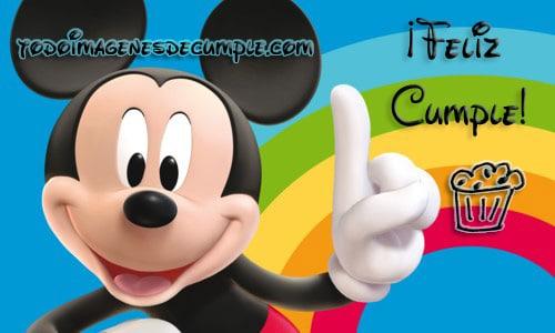 imagenes de cumpleaños con mickey