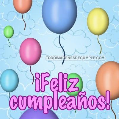 imagenes de cumpleaños con globos
