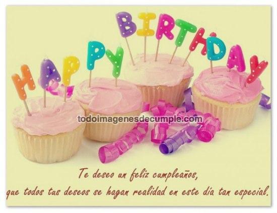 imágenes te deseo un feliz cumpleaños