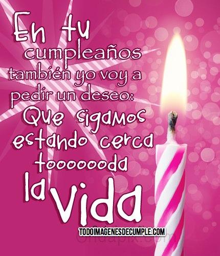 imagenes de cumpleaños color rosa