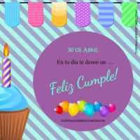 Imágenes con el día de cumpleaños (mes de Abril)