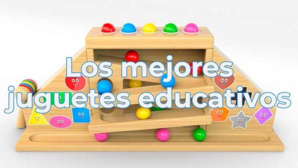 Mejores juguetes educativos para menores de 5 años