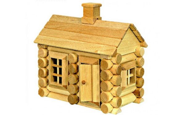 Juegos de construcciones de madera