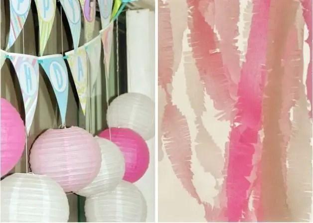 Como hacer cortinas con papel crepe  Todo Manualidades