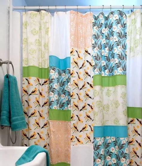 Como hacer una cortina para bao  Todo Manualidades