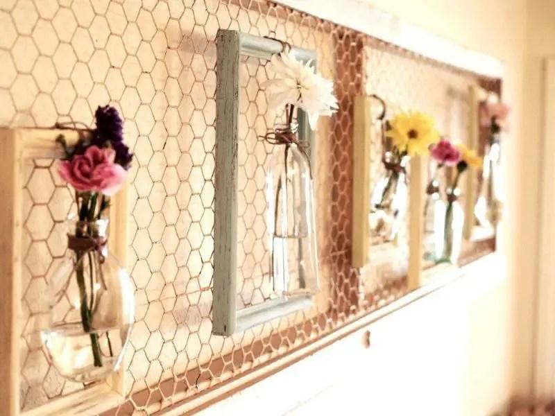 Como Hacer Cuadros Floreros Decorativos Todo Manualidades