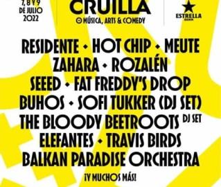 Cartel del Festival Cruilla
