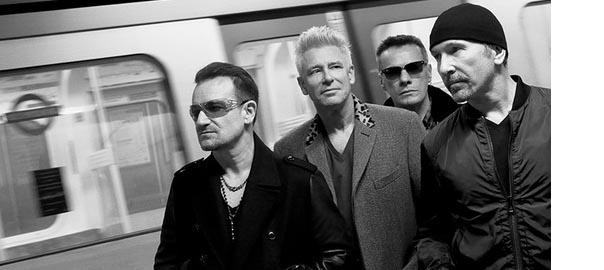 Imagen del grupo U2