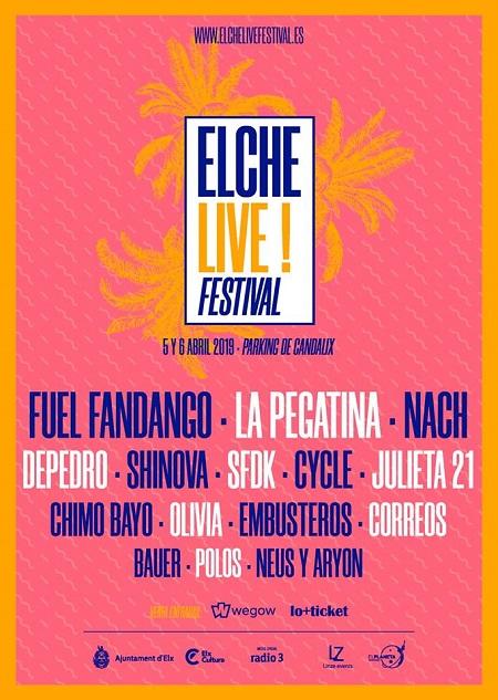 Cartel del Elche Live Music Festival