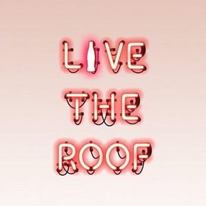 Logo del ciclo de conciertos Live The Roof