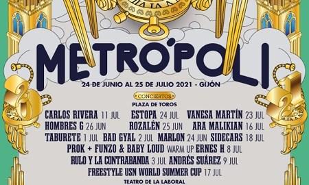 Cartel del Metrópoli Gijón