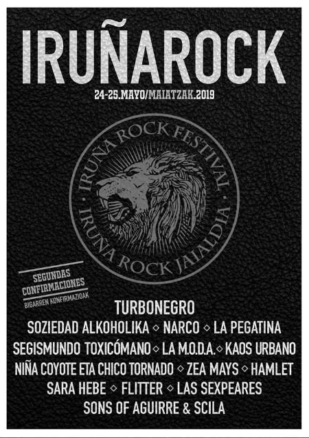 Cartel del Iruña Rock