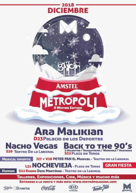 Cartel del Metropoli Winter Edition