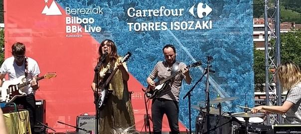 Concierto de Anni B Sweet en el Bilbao BBK Live Bereziak