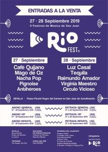 Cartel del RíoFest