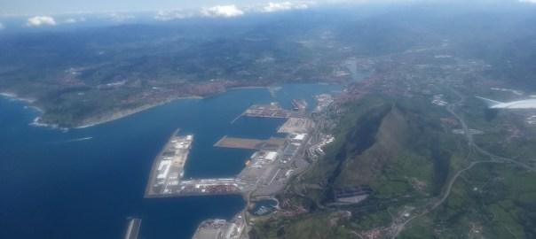Imagen tomada desde un avión