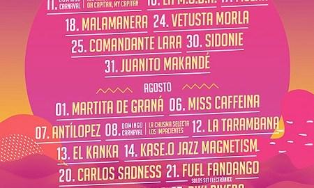 Cartel del festival Música del Mar