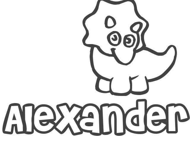 Nombre de Niño Alexander, significado y origen de