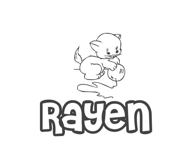 Nombre de Niña Rayen, significado, origen y pronunciación