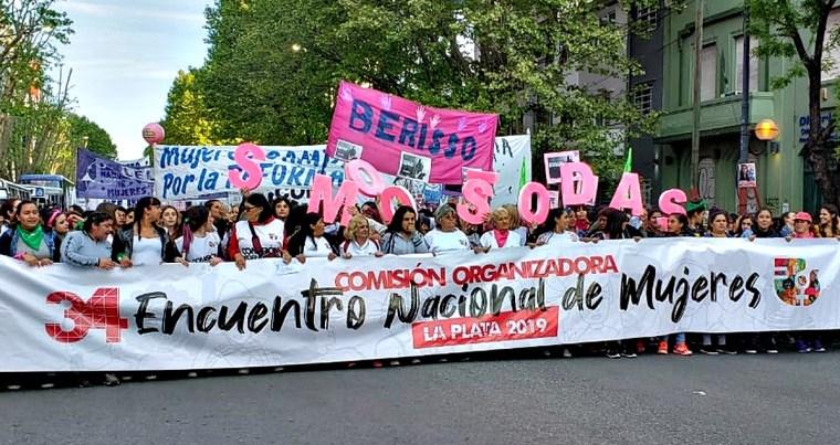 """Por qué el """"Encuentro Nacional de Mujeres"""" no cambió de nombre: la  explicación de una organizadora"""