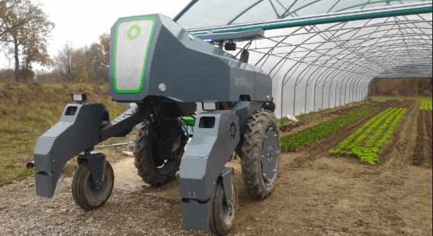 uso de robots en la agricultura