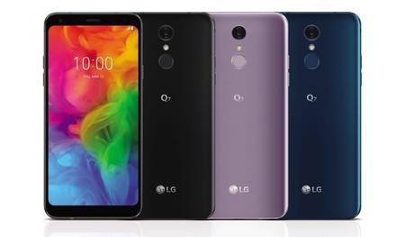 LG Q7 COLORES