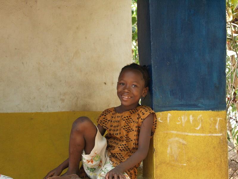 Niña de Sierra Leona