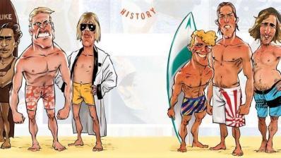 Los 10 Tipos de Surfista ¿Reconoces alguno?