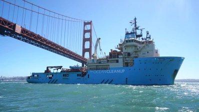 Ocean Cleanup: La esperanza de un mar limpio ya está navegando